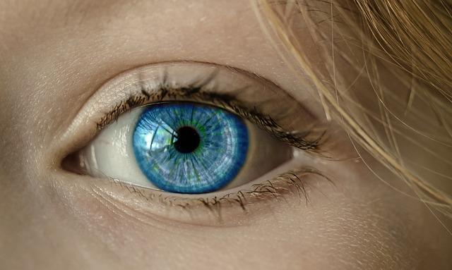 pomněnkové oko