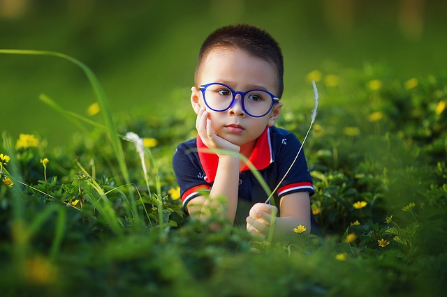 brýle již od dětství