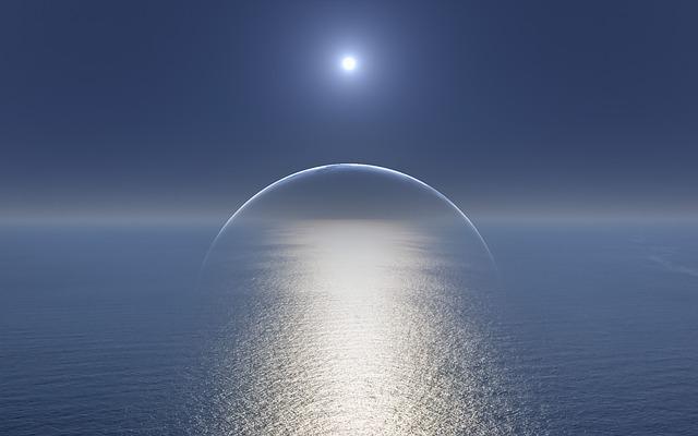 nebe a moře
