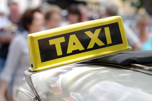 taxi znamení