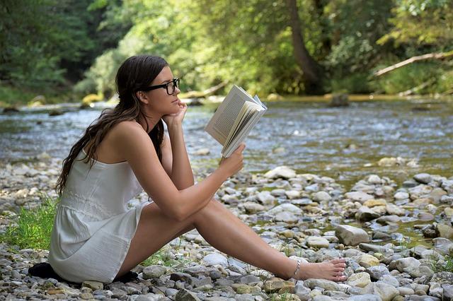 relaxace s knihou