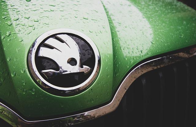 Auto s logem