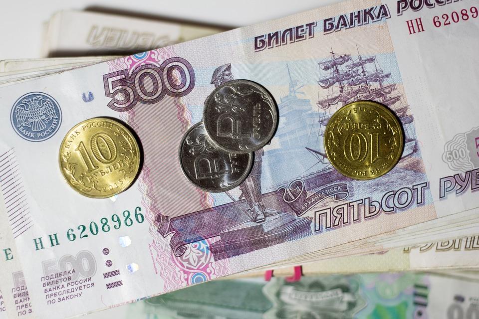 ruské rubly