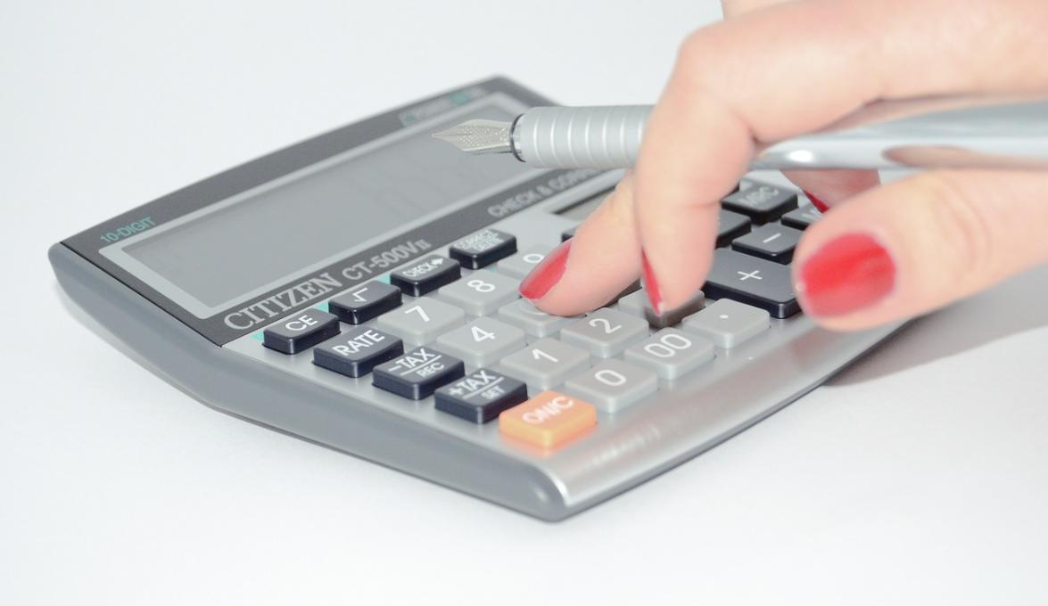 výpočet peněz
